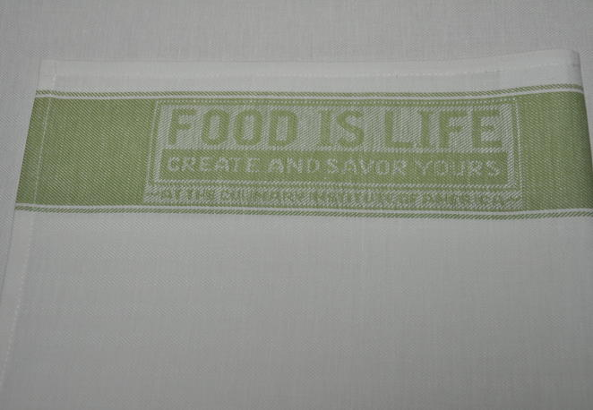 Tea towel Food green.JPG